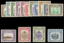 North Borneo 1939 KGVI set complete superb MNH. SG 303-317. Sc 193-207.