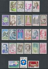 France - 1978/9, 25 x Issued stamps - MNH