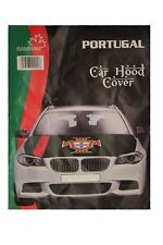PORTUGAL Black FPF Logo FIFA World Cup CAR HOOD COVER ..  New
