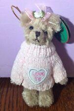 Bearington Bears Christmas Ornament - Love Ya Valentines 1921 - New With Tag