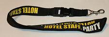 Hotel Staff Party Schlüsselband Lanyard NEU (T262)