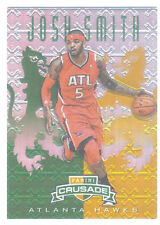 2012-13 PANINI CRUSADES JOSH SMITH GREEN REFRACTOR PARALLEL - 8/25 -MINT - MINT!