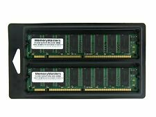 1GB 2 X 512MB PC133 LOW DENSITY SDRAM 133MHZ 168 pin 1G 1GB KIT DIMM