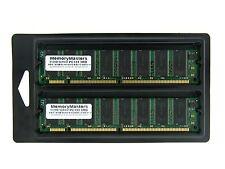 1GB 2 x 512MB PC133 niedrige dichte SDRAM 133MHz 168 Pin 1G 1GB Set DIMM