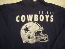 Vintage NFL Dallas Cowboys helmet 50/50 Sweatshirt XL