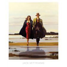 """JACK Vettriano """"la strada senza uscita"""" stampa di qualità"""