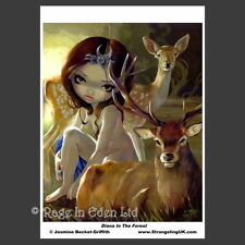 *DIANA IN THE FOREST* Fantasy A4 Photo Art Print By Jasmine Becket-Griffith
