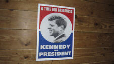 John F Kennedy JFK President Greatness Campaign POSTER
