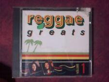 COMPILATION- REGGAE GREATS VOLUME 1 (15 TRACKS). CD