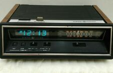 GE Digital Clock Radio 74667B VTG 70s AM FM Insta Temp Dimmer Fully Functioning