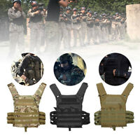 Tragbar Schutzweste Taktische Weste Einsatzweste Softair Militär Armee DE
