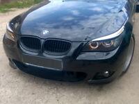 BMW E60 E61 Wimpern Böser Blick Spoiler Blende einzigartiges Design