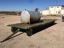 24' Trailer With 500 Gallon Diesel Tank W/ 12V DC Pump