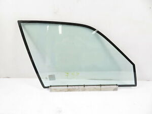 93 BMW 750il E32 #1158 Glass, Door Window W/Insulation Dual Pane, Front Right