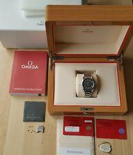 Men's Omega Seamaster Quartz Wrist Watch Comes Boxed With Paperwork