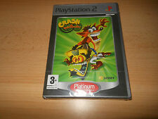 Crash Twinsanity PS2 - PLATINUM NUEVO PRECINTADO