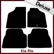 KIA Rio (2001 2002 2003 2004 2005) tapetes Tailored de lujo 1300g coche
