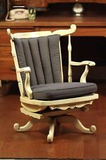 Extremely RARE, Nichols & Stone Swivel/Rocker Rocking Chair, Watch Video!