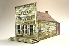 O On3 On30 Vick's Mercantile Building Structure