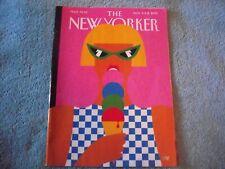 "The New Yorker Magazine Aug. 5 & 12, 2019 ""Taste of Summer"" by Olimpia Zagnoli"