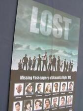 POSTER LOST missing passengers of Oceanic Flight 815 56 x 40 cm