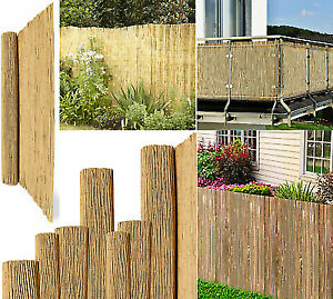 Bisen All Size Natural Reed Bamboo Screening Garden Fence Roll Screen Wind Sun