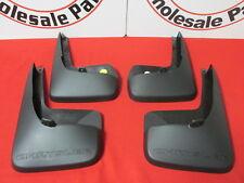 CHRYSLER Town & Country front & rear black molded splash guard kit NEW OEM MOPAR