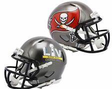 NFL TAMPA BAY BUCCANEERS SUPER BOWL LV CHAMPIONS RIDDELL MINI SPEED HELMET