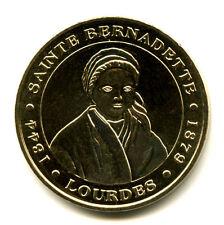 65 LOURDES Sainte-Bernadette, Sans différent, Monnaie de Paris