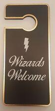 """Primark asistentes de Harry Potter """"bienvenida"""" Suspensión de puerta/signo de la Puerta Nueva"""