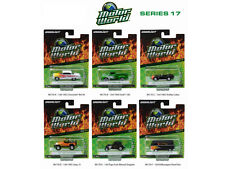 MOTOR WORLD SERIES 17, SET OF 6 CARS 1/64 DIECAST MODEL CARS BY GREENLIGHT 96170
