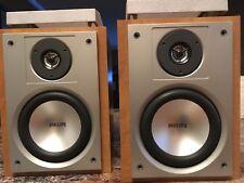 Phillips Book Shelve speakers 1 Pair