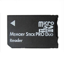 Micro SD TF to Memory Stick MS Pro Duo PSP Card One 1 Slot Adapter Converter New