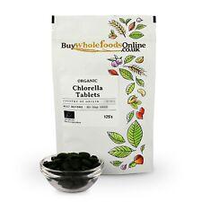 Bio Chlorella Comprimés 125's   Acheter Whole Foods En Ligne   Gratuit UK p&p