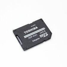TOSHIBA UHS II MicroSDXC to UHS-II SDXC Card Adapter SD 4.0 Adapter