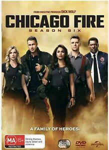 Chicago Fire Season 6 DVD Region 4 BRAND NEW