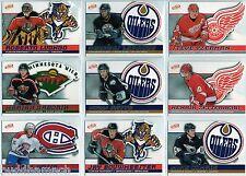 2003/04 McDONALDS ATOMIC COMPLETE 55 CARD BASE SET