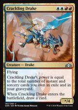 1x CRACKLING DRAKE - Guilds of Ravnica - MTG - NM - Magic the Gathering