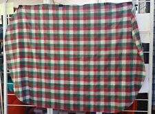 "RED GREEN WHITE CHRISTMAS PLAID 80""X56"" RECTANGLE TABLECLOTH FREE SHIPPING"