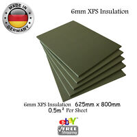Electric Underfloor Heating XPS insulation board 6mm Carbon underfloor heating