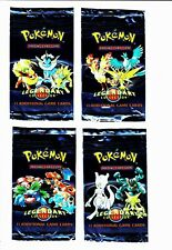 Legendary Collection - Empty booster pack - set of 4 - NO CARDS