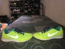 Nike Free TR Fit 3 Breathe Womens Running Training Shoes Size 10 Volt Blue White
