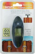 Boyztoys RY814 Electronic Hanging Luggage Scales Maximum Weight 55kg/121lbs New