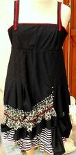 robe  noir la mode est a vous LMV taille 38 40 modele * shaman * neuf s/et