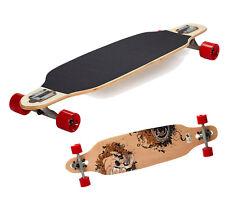 Longboard Komplettboard Einsteiger Sportbanditen 38 Zoll Drop Skull 98cm