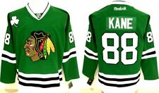 Patrick Kane #88 Black Hawks Green St. Patty's Day 54 2x MEN's Jersey