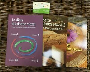 I LIBRI DEL DOTTOR MOZZI 3 VOLUMI LA DIETA E LE RICETTE DEL DOTTOR MOZZI