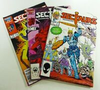 Marvel Comics SECTAURS: WARRIORS OF SYMBION (1984) #1 VF/NM 6 FN/VF 7 VF Lot