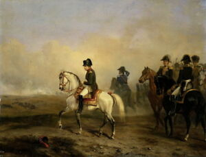 Horace Vernet Keizer Napoleon  Giclee Canvas Print Paintings Poster Reproduction