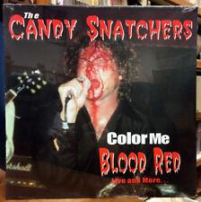 CANDY SNATCHERS Color Me Blood Red LP RARE PUNK SEALED VINYL